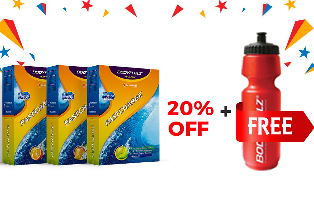 Buy 3 Fastcharge 1 Sipper Free